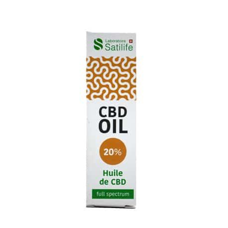 Huile Satilife 20% Cbd